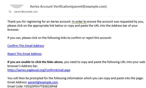 Aeries Parent Portal Help Guide Aeries Parent Portal Help Guide